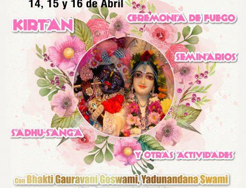 Festival de Primavera 2017 en Nueva Vrajamandala